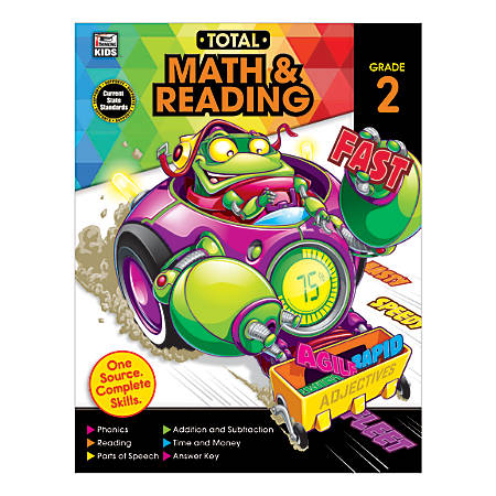 Thinking Kids® Total Math And Reading, Grade 2