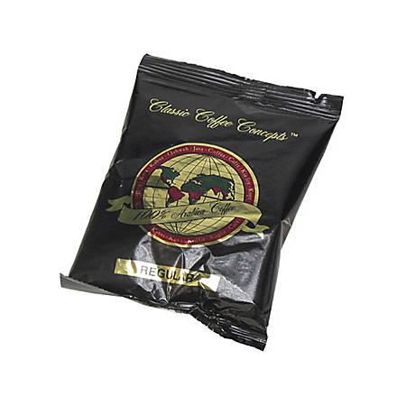 Office Snax Chase/Sanborn Gourmet Office Coffee - Regular - Arabica - 1.3 oz Per Case - 42 Packet - 42 / Box