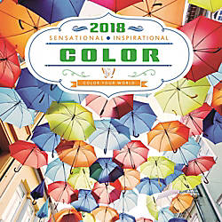 DateWorks Inspirational Color Decorative Wall Calendar