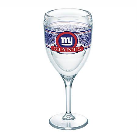 Tervis NFL Select Wine Glass, 9 Oz, New York Giants