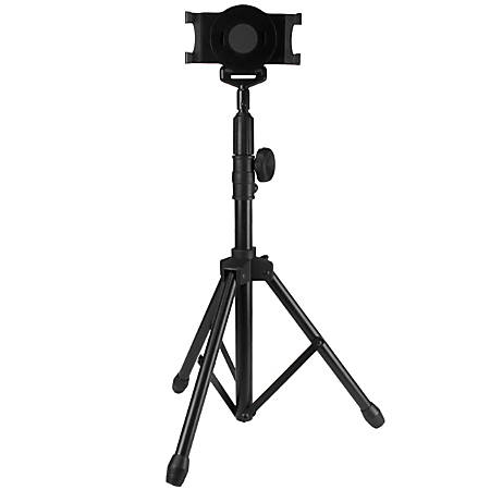 """StarTech.com Adjustable Tablet Tripod Stand, For 6.5"""" to 7.8"""" Wide Tablets"""