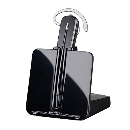 Plantronics® CS540 Wireless Office Phone Headset, Black/Silver