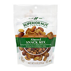Superior Nut Honey Roasted Almond Snack