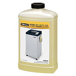 Fellowes High Security Shredder Oil 32