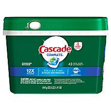 Cascade Complete ActionPacs Dishwasher Detergent Fresh
