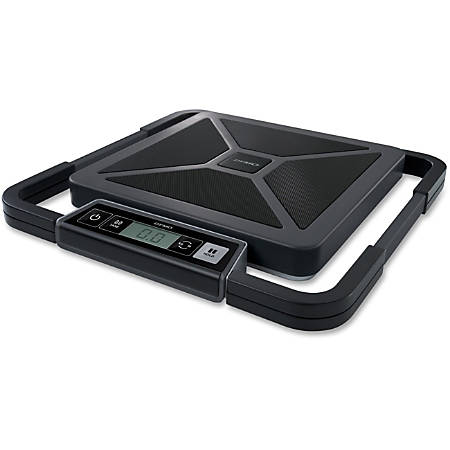 DYMO 100 lb. Digital USB Shipping Scales with Remote Display, Silver