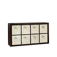 Sauder Stow Away 8 Cube Organizer