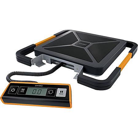 DYMO 400 lb Digital USB Shipping Scale, with Remote Display, Orange