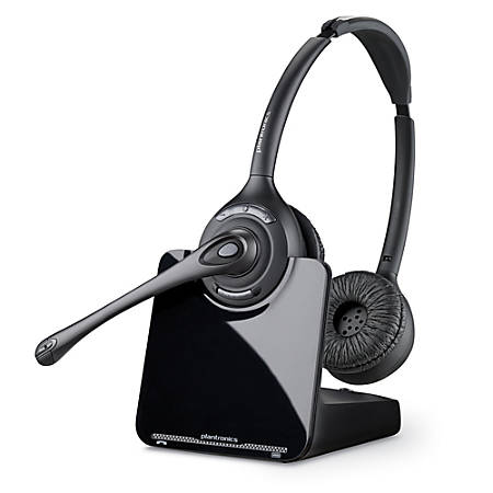 Plantronics® CS520 Wireless Office Phone Headset