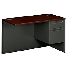 HON 38000 Series Left Pedestal Desk