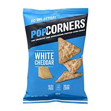 PopCorners Popped Corn White Cheddar Snack