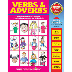 Barker Creek Grammar Activity Book Verbs