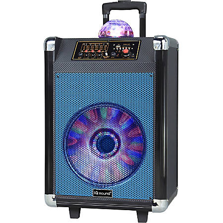 Supersonic Speaker System - 30 W RMS - Wireless Speaker(s) - Portable - Battery Rechargeable - Blue