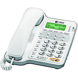 AT T CL2909 Corded Phone with