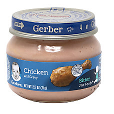 Gerber 2nd Foods Strained Chicken Infant