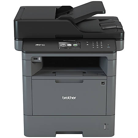 Brother Wireless Monochrome Laser All-In-One Printer, Copier, Scanner, Fax, MFC-L5700DW