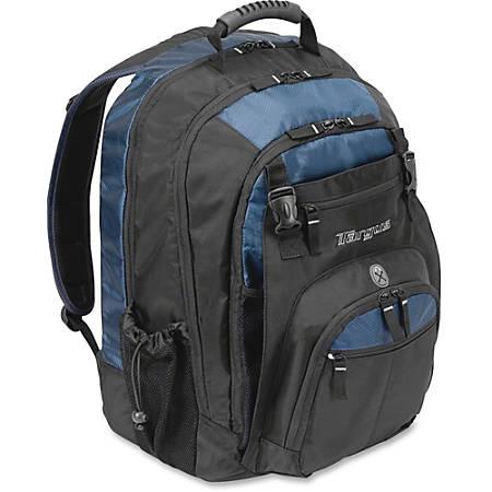 "Targus XL Notebook Backpack TXL617 - Nylon - Shoulder Strap - 15.5"" Height x 8"" Width x 20.5"" Depth"