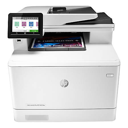 HP Color LaserJet Pro MFP M479fdw Wireless Laser All-In-One Printer, Copier, Scanner, Fax, W1A80A#BGJ
