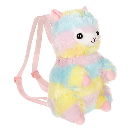 AMUSE Rainbow Alpaca Backpack