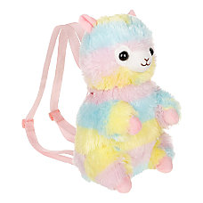 AMUSE Rainbow Alpaca Backpack
