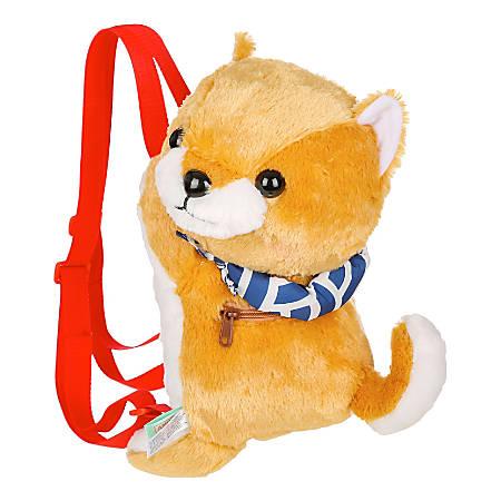 Amuse Backpacks, Gold Shiba Inu, Set Of 24 Backpacks