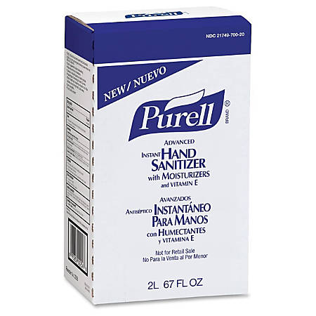 Purell® NXT® Maximum Capacity Instant Hand Sanitizer Refill, 2000 mL