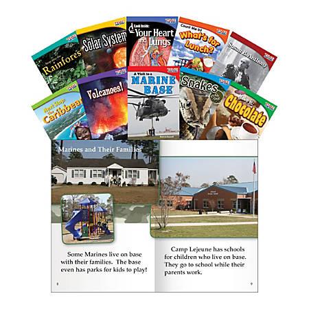 Teacher Created Materials TIME FOR KIDS® Nonfiction Book Set, Set 3, Set Of 10 Books, Grade 2