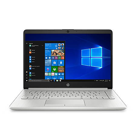 "HP 14-dk0053od Laptop, 14"" Screen, AMD A4, 4GB Memory, 64GB eMMC, Windows® 10 Home in S mode"