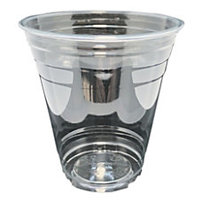 Edris Plastics Flush PET Cups 12