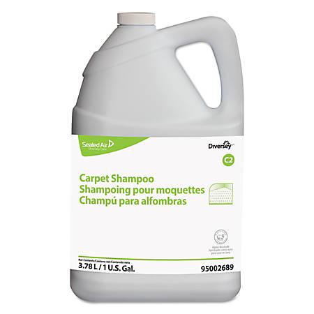 Diversey™ Carpet Shampoo, Floral Scent, 128 Oz, Pack Of 4 Bottles
