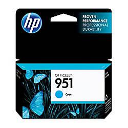 HP 951 Cyan Ink Cartridge CN050AN