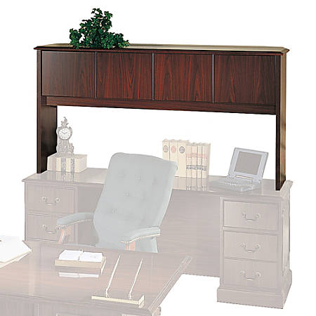 HON® 94000 Series™ Stack-On Storage With Laminate Doors, Mahogany