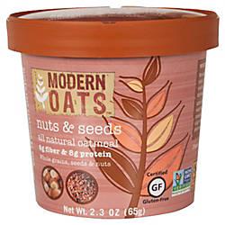 Modern Oats Oatmeal Cups Nuts Seed