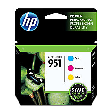 HP 951 Cyan Magenta Yellow Original