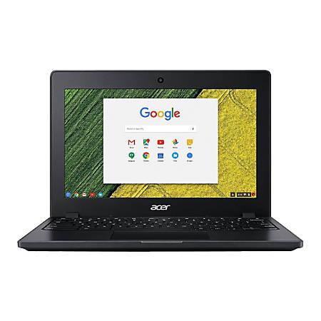 "Acer® Chromebook 11 Refurbished Laptop, 11.6"" Screen, Intel® Celeron®, 4GB Memory, 32GB Flash Storage, Google™ Chrome OS"