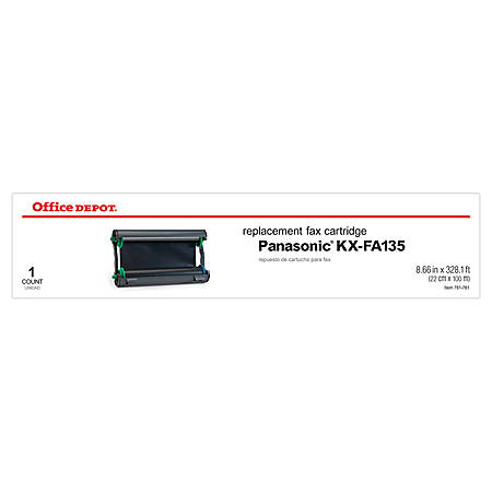 Office Depot® Brand 45P (Panasonic KX-FA135) Thermal Fax Cartridge