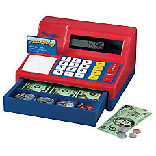 Learning Resources Pretend Play Calculator Cash