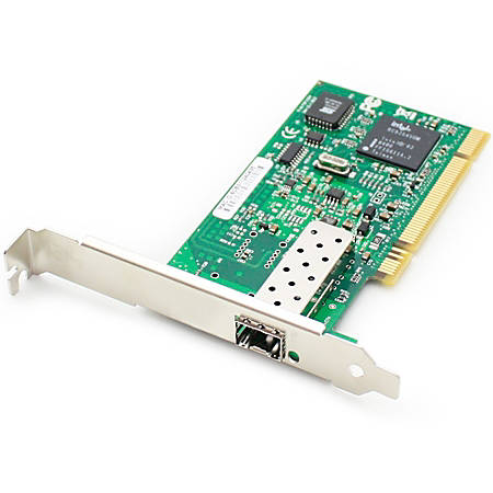 AddOn 100Mbs Single Open SFP Port MMF or SMF PCI Network Interface Card