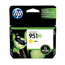 HP 951XL Yellow Original Ink Cartridge
