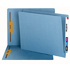 Smead End Tab Fastener Folders Letter