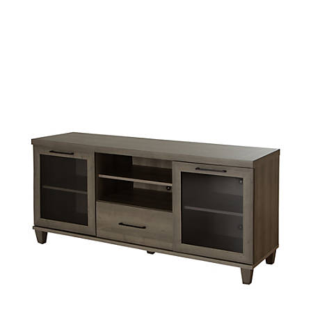 """South Shore Adrian TV Stand For TVs Up To 60"""", Gray Maple"""