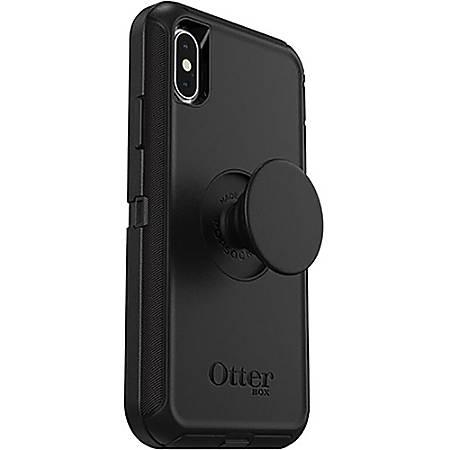 OtterBox Otter + Pop Defender Series for iPhone X/Xs Max - For Apple iPhone X, iPhone XS Smartphone - Black - Drop Resistant, Bump Resistant, Dirt Resistant, Dust Resistant, Lint Resistant