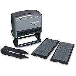Xstamper Self Inking Custom Message Stamp