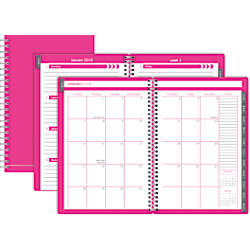 Office Depot Brand Poly Monthly Planner