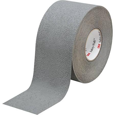 "3M™ 370 Safety-Walk Tape, 3"" Core, 4"" x 60', Gray"