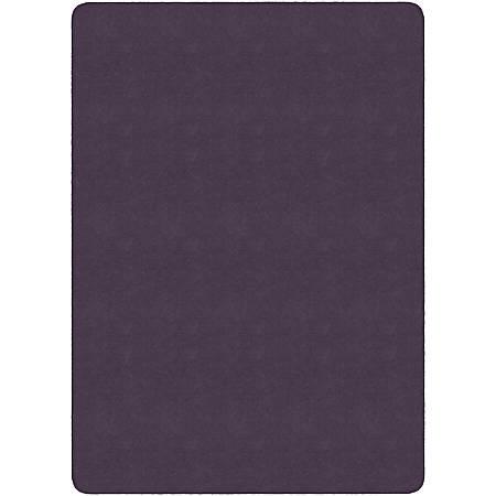 Flagship Carpets Americolors Rug, Rectangle, 6' x 9', Pretty Purple