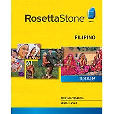 Rosetta Stone Filipino Tagalog Level 1