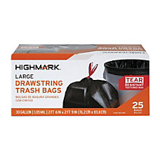 Highmark Low Density Trash Bags Coreless