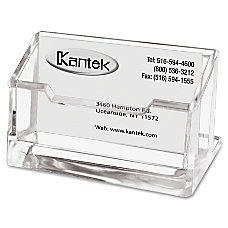 Kantek Acrylic Business Card Holder 2