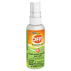 OFF Botanicals Insect Repellent Spray 4